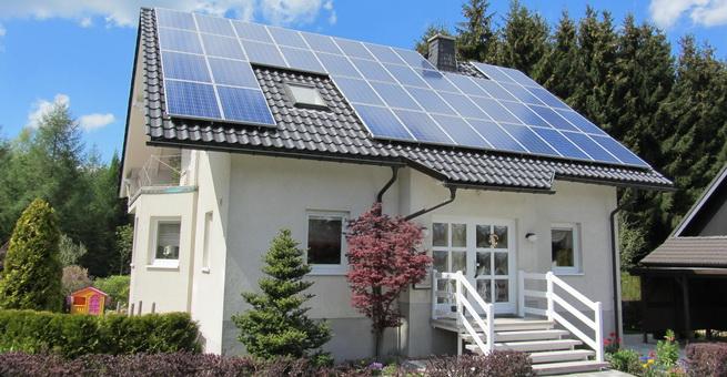 casa panouri solare