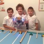 """Ariston Thermo sprijin """"robotii stelari"""" romani la competitia de robotica din Qatar"""