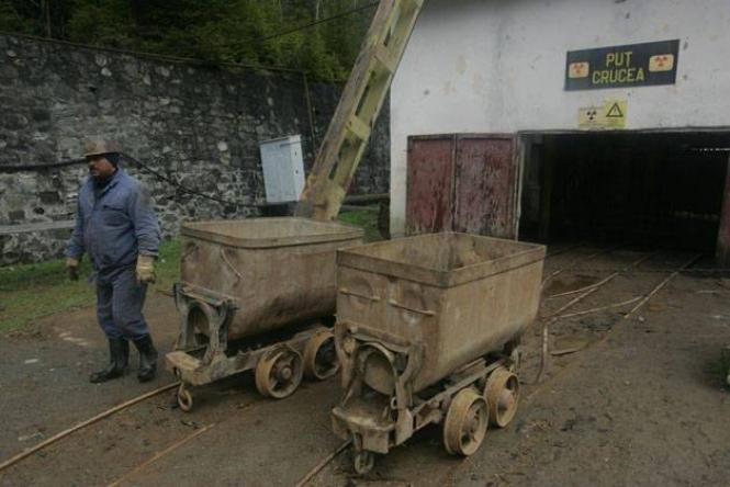 exploatarea de uraniu de la Crucea-Suceava
