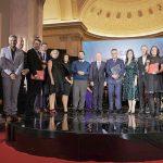 """Marele premiu al competitiei E.ON Energy Globe Award Romania, editia 2017, castigat de Gradinita """"Prichindel"""" din Suceava."""