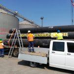 Primele conducte la gazoductul BRUA, made in Turcia, au inceput sa fie montate de Transgaz in zona Recas
