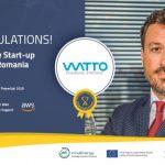 Start-up-ul WATTO, care dezvolta o retea de statii de incarcare ultra-rapida, a fost desemnat castigatorul finalei nationale a competitiei EIT InnoEnergy PowerUp! Challenge